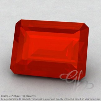Carnelian Octagon Shape Calibrated Gemstones