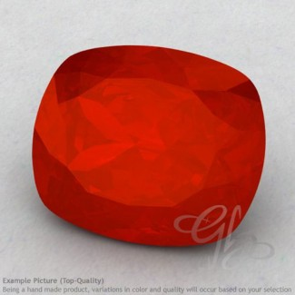 Carnelian Cushion Shape Calibrated Gemstones
