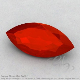 Carnelian Marquise Shape Calibrated Gemstones