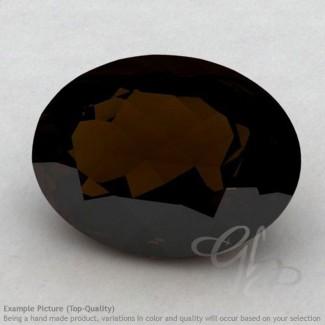 Whisky Quartz Oval Shape Calibrated Gemstones