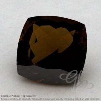 Whisky Quartz Square Cushion Shape Calibrated Gemstones