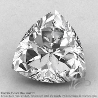 Crystal Quartz Trillion Shape Calibrated Gemstones