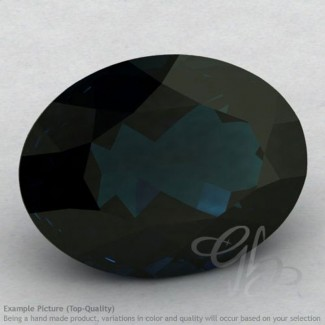London Blue Topaz Oval Shape Calibrated Gemstones
