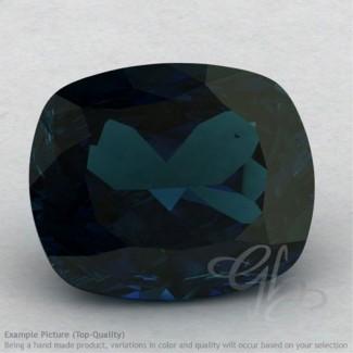 London Blue Topaz Cushion Shape Calibrated Gemstones