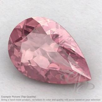 Rose Quartz Pear Shape Calibrated Gemstones