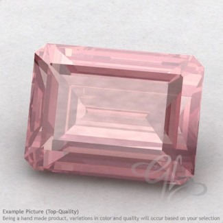 Rose Quartz Octagon Shape Calibrated Gemstones