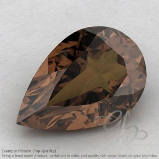 Smoky Quartz Pear Shape Calibrated Gemstones