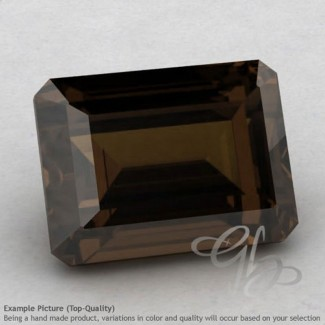 Smoky Quartz Octagon Shape Calibrated Gemstones