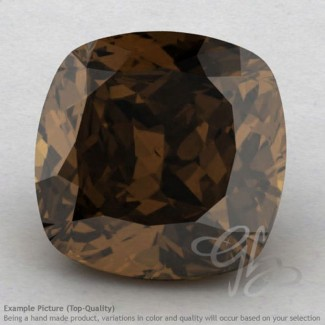 Smoky Quartz Square Cushion Shape Calibrated Gemstones
