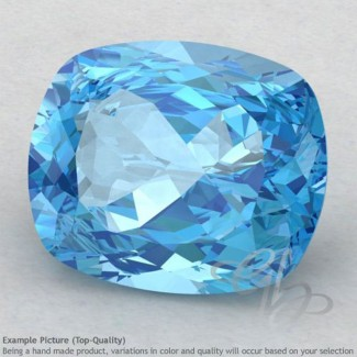 Swiss Blue Topaz Cushion Shape Calibrated Gemstones