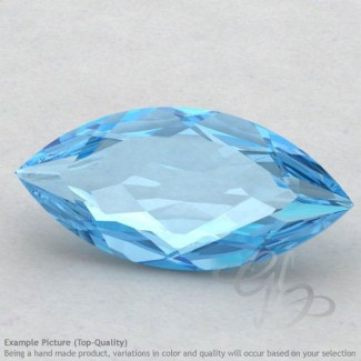 Swiss Blue Topaz Marquise Shape Calibrated Gemstones