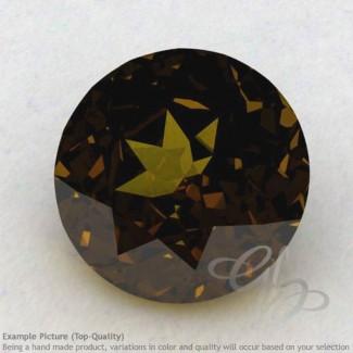 Beer Quartz Round Shape Calibrated Gemstones