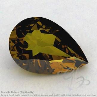 Beer Quartz Pear Shape Calibrated Gemstones