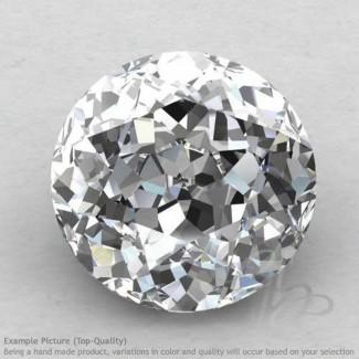White Topaz Round Shape Calibrated Gemstones