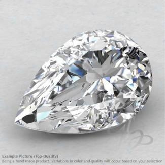White Topaz Pear Shape Calibrated Gemstones