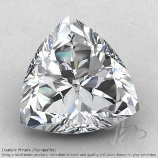 White Topaz Trillion Shape Calibrated Gemstones