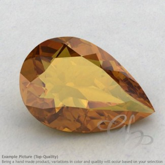 Honey Quartz Pear Shape Calibrated Gemstones