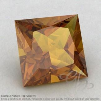 Honey Quartz Square Shape Calibrated Gemstones
