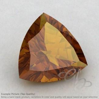 Honey Quartz Trillion Shape Calibrated Gemstones