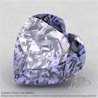 Iolite Heart Shape Calibrated Gemstones