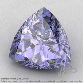 Iolite Trillion Shape Calibrated Gemstones