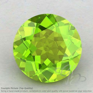 Peridot Round Shape Calibrated Gemstones