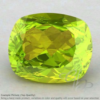 Peridot Cushion Shape Calibrated Gemstones