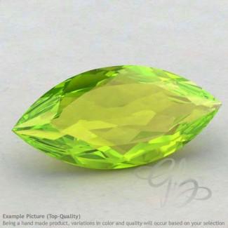 Peridot Marquise Shape Calibrated Gemstones
