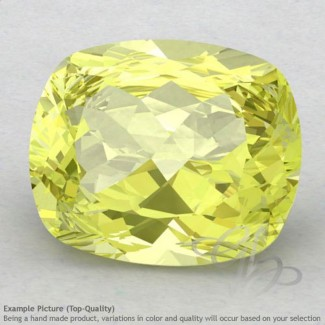 Lemon Quartz Cushion Shape Calibrated Gemstones