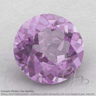 Pink Amethyst Round Shape Calibrated Gemstones