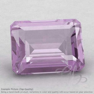 Pink Amethyst Octagon Shape Calibrated Gemstones