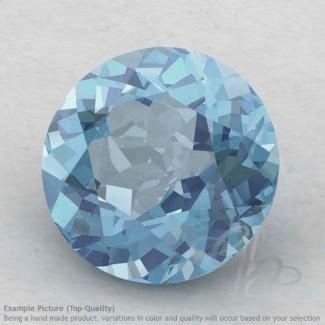 Aquamarine Round Shape Calibrated Gemstones