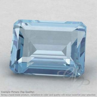 Aquamarine Octagon Shape Calibrated Gemstones