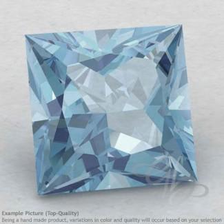 Aquamarine Square Shape Calibrated Gemstones