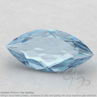 Aquamarine Marquise Shape Calibrated Gemstones