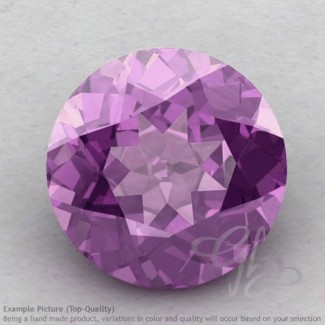 Brazilian Amethyst Round Shape Calibrated Gemstones