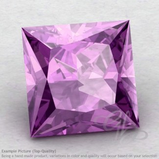 Brazilian Amethyst Square Shape Calibrated Gemstones