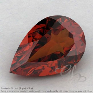 Garnet Pear Shape Calibrated Gemstones