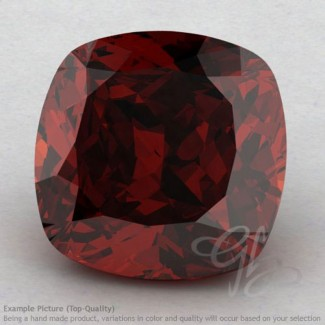 Garnet Square Cushion Shape Calibrated Gemstones
