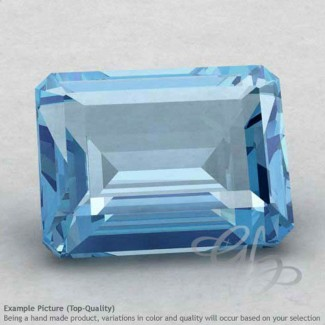 Sky Blue Topaz Octagon Shape Calibrated Gemstones