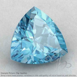 Sky Blue Topaz Trillion Shape Calibrated Gemstones