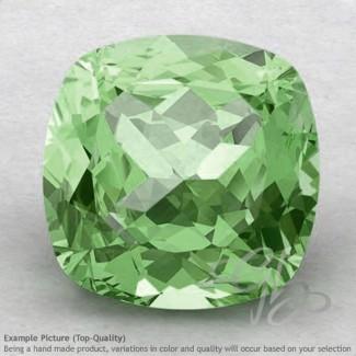 Green Amethyst Square Cushion Shape Calibrated Gemstones