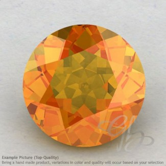 Citrine Round Shape Calibrated Gemstones