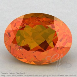 Citrine Oval Shape Calibrated Gemstones