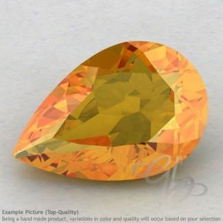 Citrine Pear Shape Calibrated Gemstones