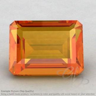 Citrine Octagon Shape Calibrated Gemstones