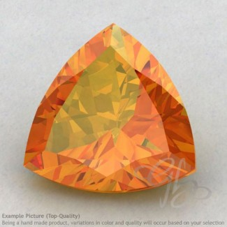 Citrine Trillion Shape Calibrated Gemstones