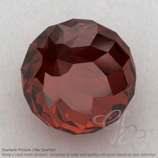 Garnet Round Shape Calibrated Beads