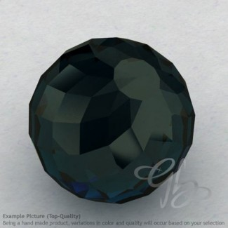 London Blue Topaz Round Shape Calibrated Beads