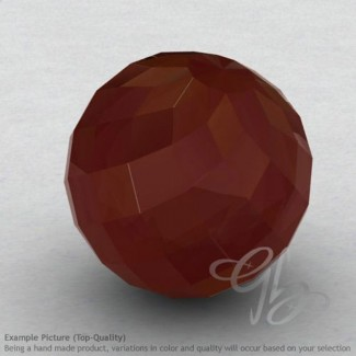 Red Onyx Round Shape Calibrated Beads